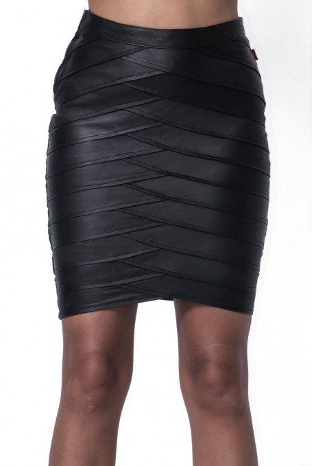 PALM PENCIL SKIRT