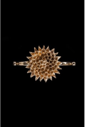 FLOWER OF LIFE DOUBLE RING